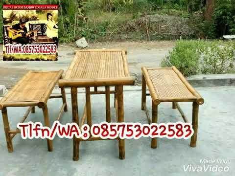 580+ Desain Meja Kursi Dari Bambu Gratis Terbaru