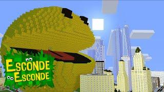 Minecraft: PIXELS - O FILME! (Esconde-Esconde)