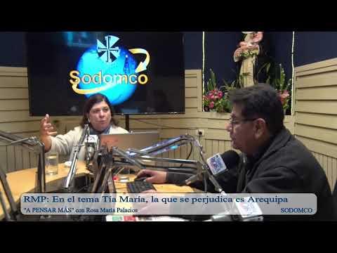 RMP: En el tema Tía María, la que se perjudica es Arequipa