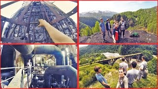WOUT-trip №1 p.4.2 Абхазия, Ткуарчал, Заброшенные деревни, МЕДВЕДИ, угольные шахты!