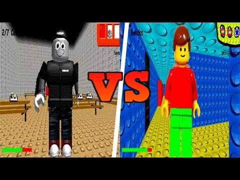 ROBLOX Vs LEGO In Baldi's Basics In Education And Learning