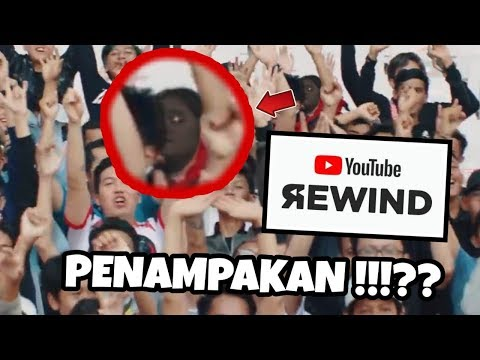 PENAMPAKAN DI YOUTUBE REWIND INDONESIA 2018 !!? WKWKW - Reaction