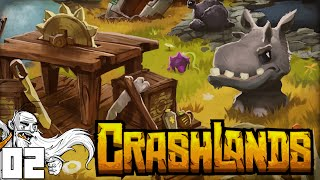 """""""YOU THOUGHT IT WAS EASY?!? HAH!!!"""" CrashLands Part 2 - 1080p HD PC Gameplay Walkthrough"""