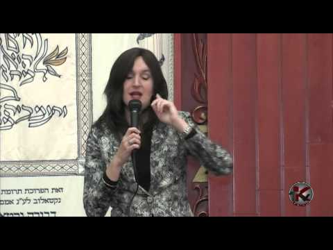 Lecture by Esther Segal 2 18 2013 on Kaykov TV