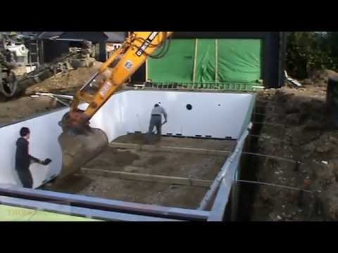 Start to finish Building your own Quick Garden Swimming Pool