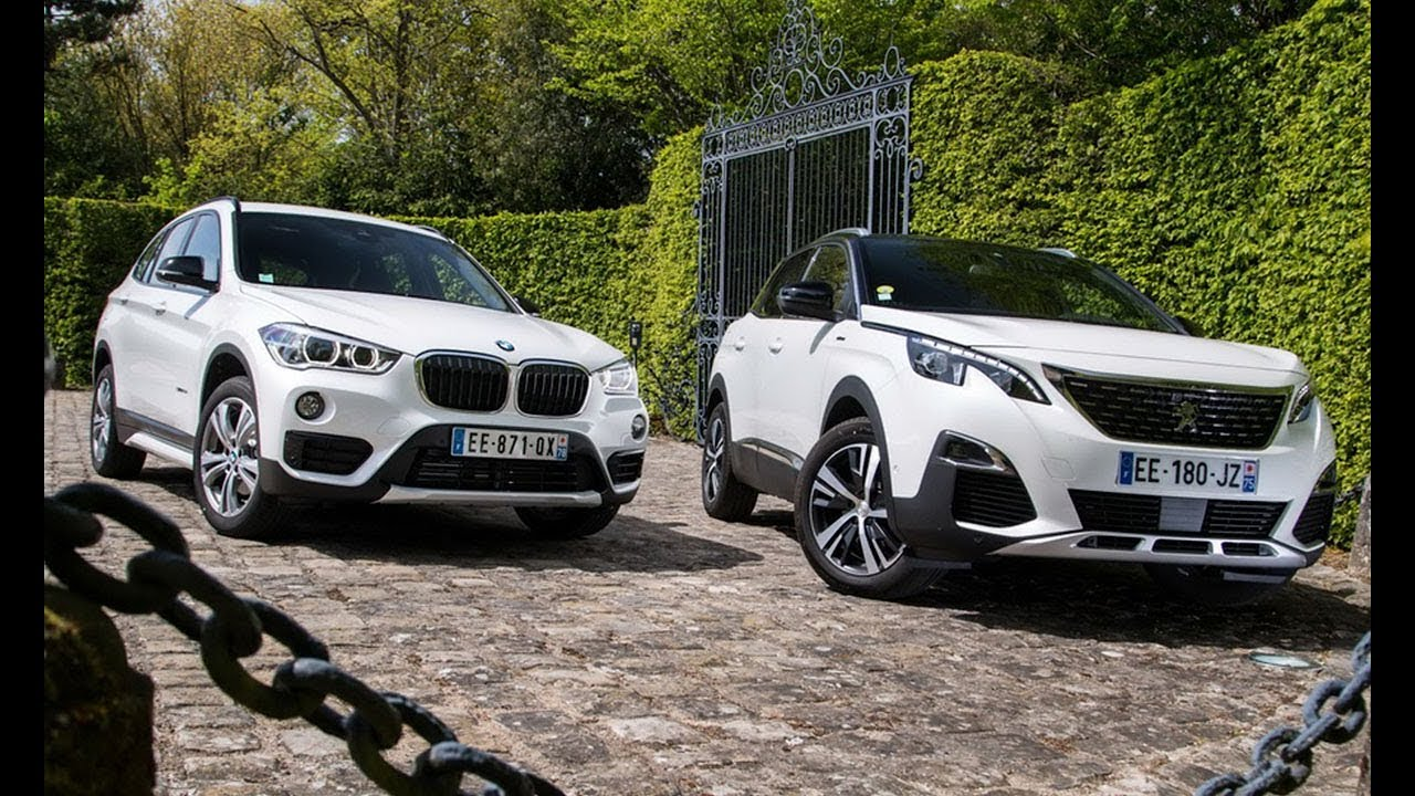 peugeot 3008 vs bmw x1 essai comparatif 2017 youtube. Black Bedroom Furniture Sets. Home Design Ideas