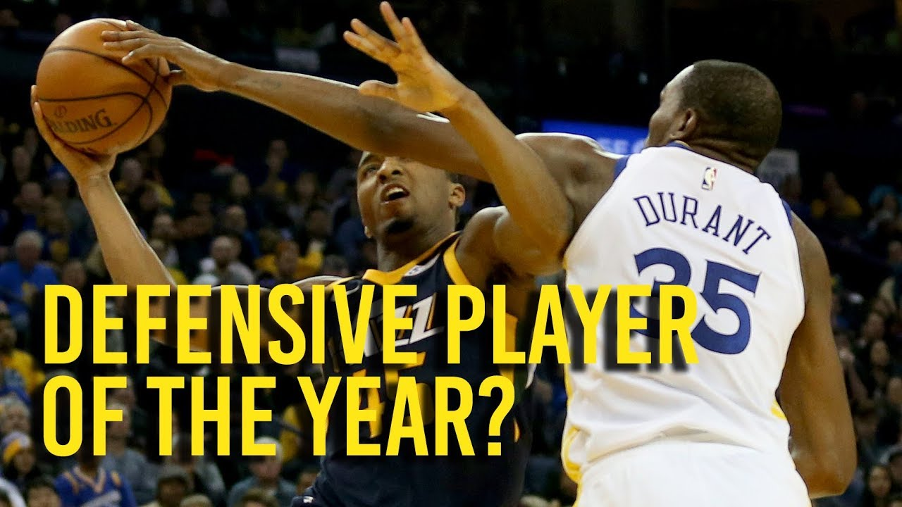 Is Kevin Durant the defensive player of the year?