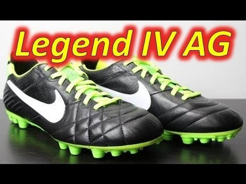 low priced 8d744 82cd0 Nike Tiempo Legend IV ACC AG Black/Electric Green/White - Unboxing + On Feet