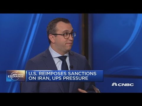 US Sanctions On Iran Hit Oil, Banking And Shipping