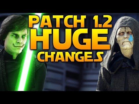 HUGE CHANGES: Full Patch 1.2 Details - Star Wars Battlefront 2