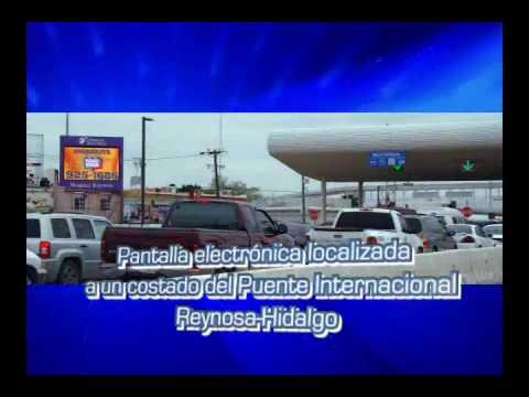 Border Vision – Advertising in digital screens in Hidalgo
