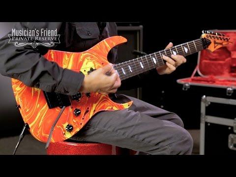 Ibanez Steve Vai Signature Passion & Warfare 25th Ann. L.E. 7-String Electric Guitar