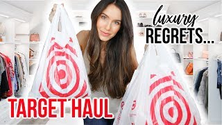 Luxury Purchases I Regret & Target Haul