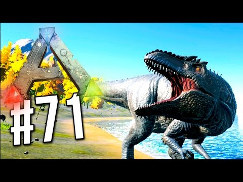 Ark Survival Evolved - Giganotosaurus TAMING! How to Tame Giga (Ark Survival Evolved)
