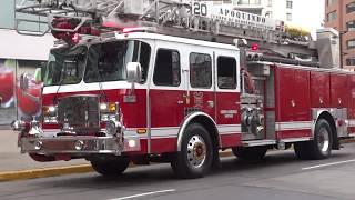 Camiones de bomberos y ambulancias (MATERIAL MAYOR) de Chile 2017 y 2015
