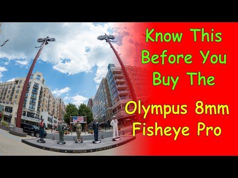 Quirky Olympus 8mm Fisheye Pro Lens Ep.173