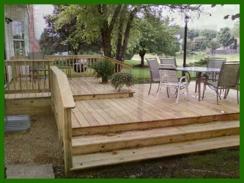 Woodridge Downers Grove Naperville Deck Construction Framing Two Tiered You