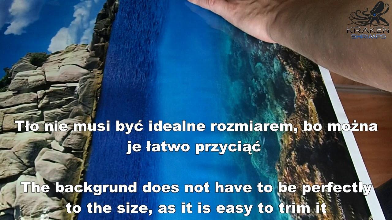 Juwel aquarium background poster fix