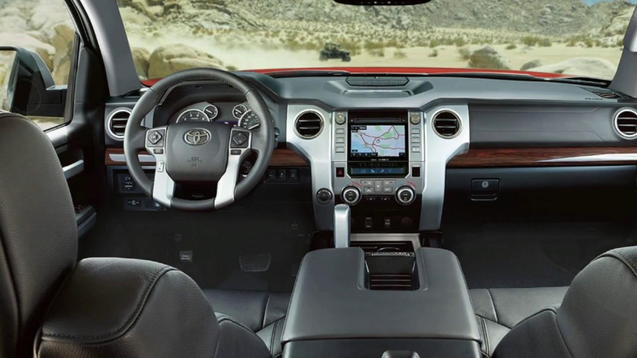 2017 Toyota Tundra Interior - YouTube