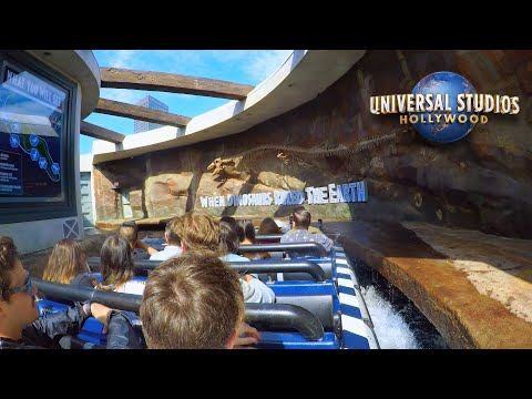 Jurassic World The Ride Red Carpet Grand Opening thumbnail
