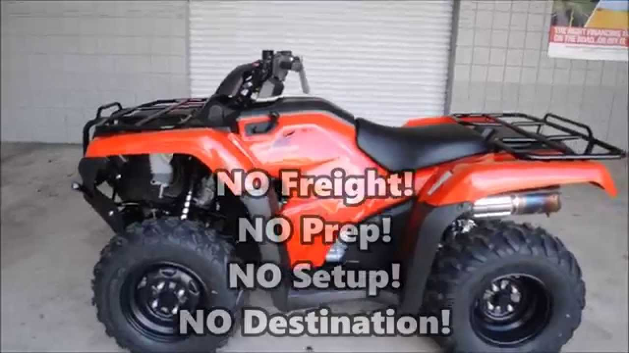 Honda Four Wheelers For Sale >> 2015 Honda Rancher Four Wheeler For Sale / TN GA AL area ...