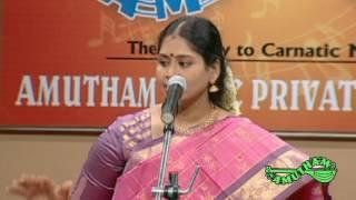 Karpagame  - Nithyashree Mahadevan -  The Concert (Full Track)