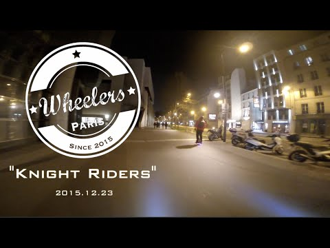 "Electric Unicycle - ""Aubrac"" Ride - Paris (2015.12.23)"