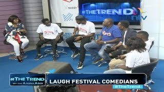 Laugh festival comedians on the hustles and intrigues of their job #theTrend