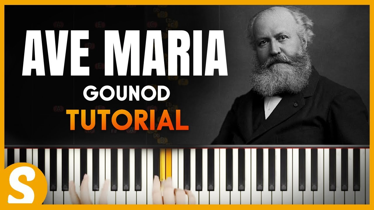 How to play `AVE MARIA` by Gounod | Smart Classical Piano | Classical &  Film Music Piano Tutorials