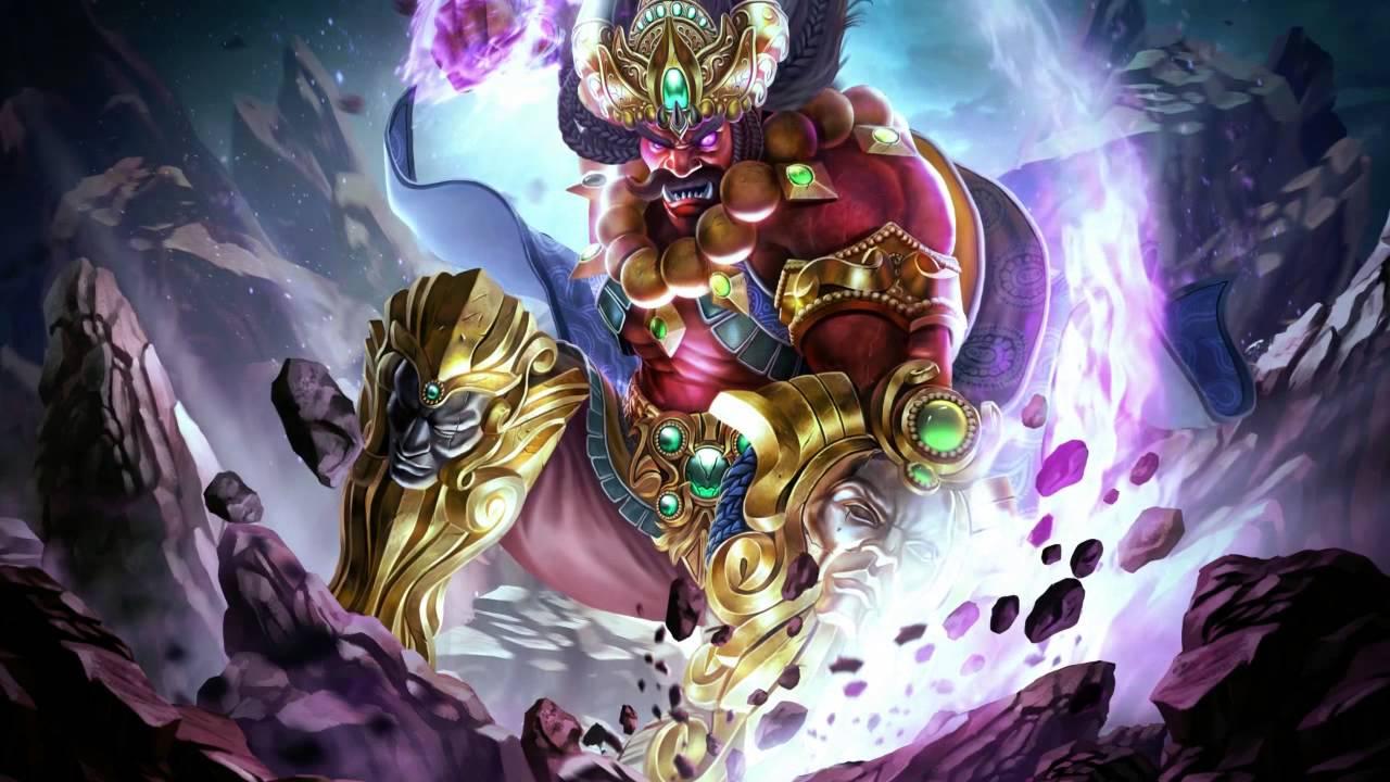 Smite Animated Wallpaper - Ravana, Hindu Demon King of ...