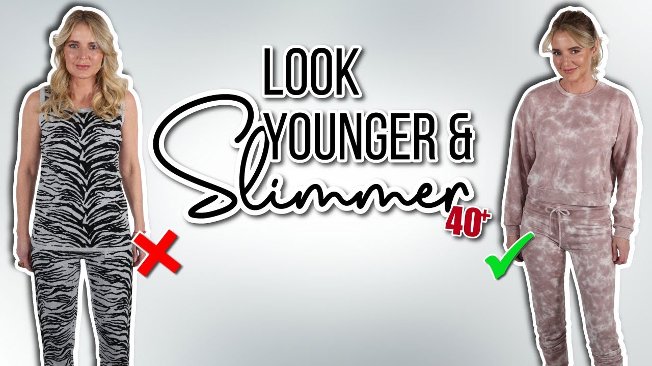 Look 10 Years Younger and 10lb. Slimmer With These 5 KEY Style Tips For Women Over 40