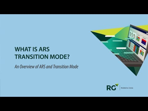 What Is Ars Transition Mode You