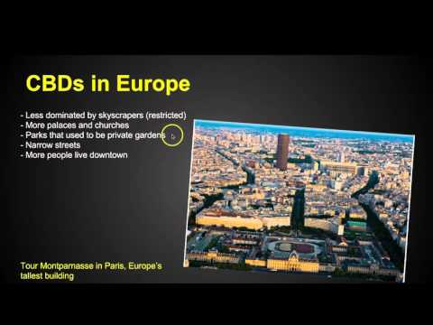 Chapter 13 Key Issue 2 - Urban Patterns - AP Human Geography