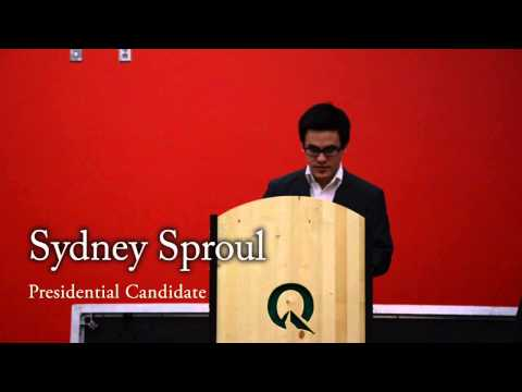 SRC Presidential Election Speeches and Q&A 2014 (Part 1)