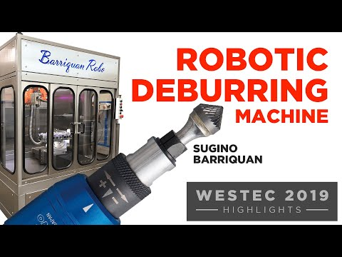 The Sugino Barriquan™ Robotic Deburring Machine 1
