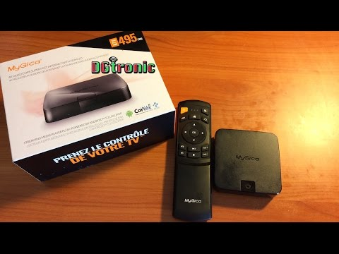 MyGica ATV 495 PRO Android smart tv box FULL REVIEW VIDEO