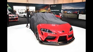 video thumbnail of Toyota Puts the Spotlight on the New Supra at the 2019 SEMA Show
