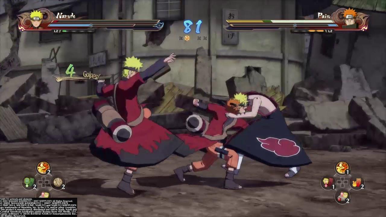 Naruto VS Pain - YouTube