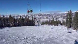 Skiing in Colorado - Beaver Creek Ski Resort Colorado 1/21/2016