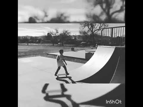 Skating all day really fun..