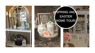 HOME TOUR (SPRING/EASTER) FARMHOUSE