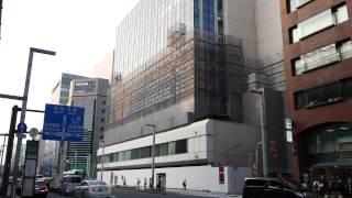 日本紙パルプ商事/東京・日本橋のJPビル建替の状況(2015年7月31日)