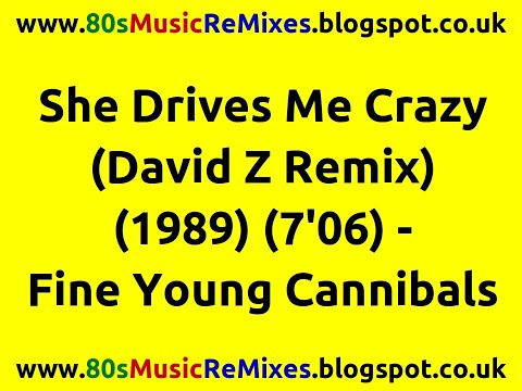 She Drives Me Crazy David Z Remix  Fine Young Cannibals  80s Club Mixes  80s Club Music