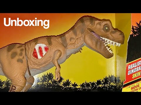 Jurassic Park Series I Young Tyrannosaurus Rex Figure Review