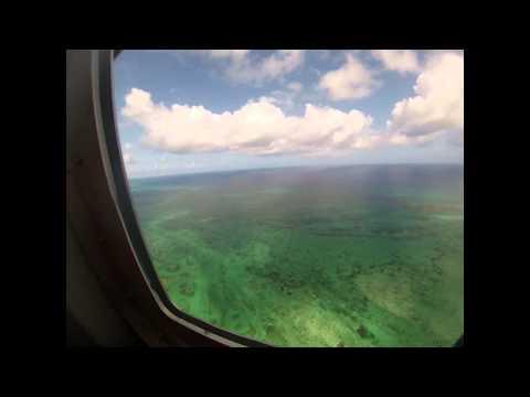 HELICOPTER AROUND CAICOS ISLAND