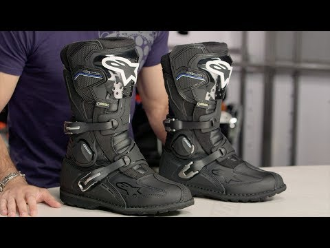 TCX X-Desert Gore Tex Boots Review | Motorcycle Superstore - YouTube
