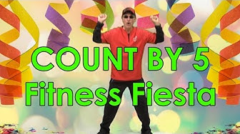 It's a Count by 5  Fitness Fiesta | Count by 5 | Jack Hartmann