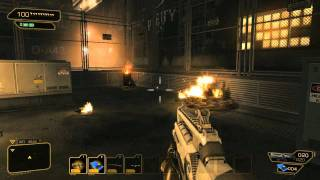Deus EX Human Revolution gameplay PC HD maxed out Directx 11 gtx 560 First look