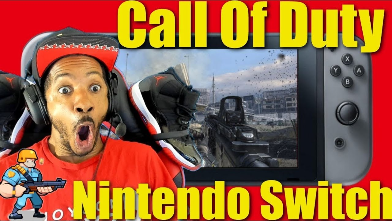 Call Of Duty On Nintendo Switch Youtube