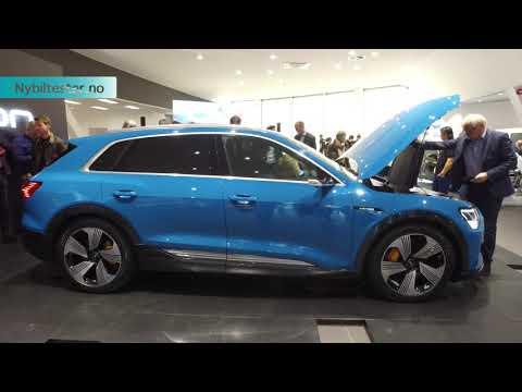 Avduking av Audi e tron i Norge - medium versjon av filmen